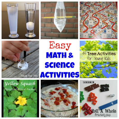 math and science activities for kids