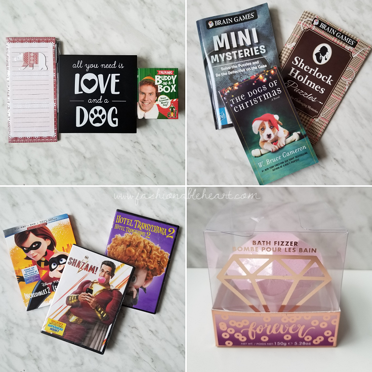 bblogger, bbloggers, lifestyle blogger, what i got for christmas, stocking stuffers, the incredibles 2, shazam, zachary levi, bath fizzer, puzzle books