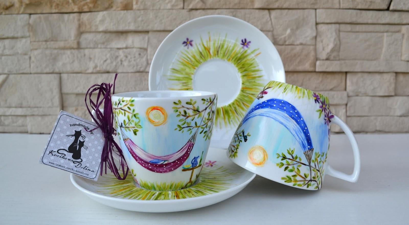 Filiżanki dla par... małe bujanie na porcelanie i coś o zmianach