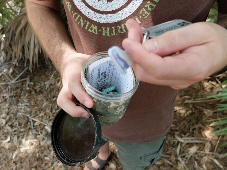 Sweet Turtle Soup - Spring Bucket List: try geocaching