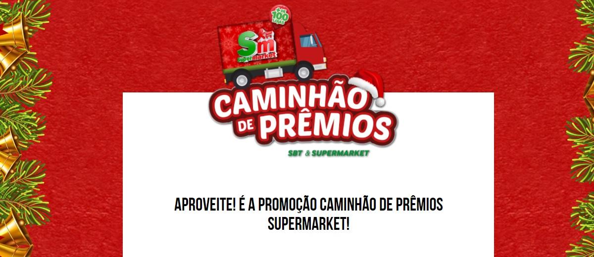 Promoção Caminhão de Prêmios SBT e Supermarket 2020 - Participar, Prêmios