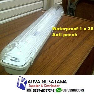 Jual Lampu Anti Pecah Waterproof Lampu TL Pabrik di Kendal