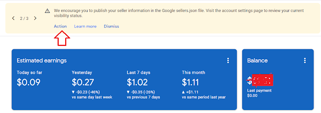 "How To Fix ""Google sellers.json file"" in Adsense Account"