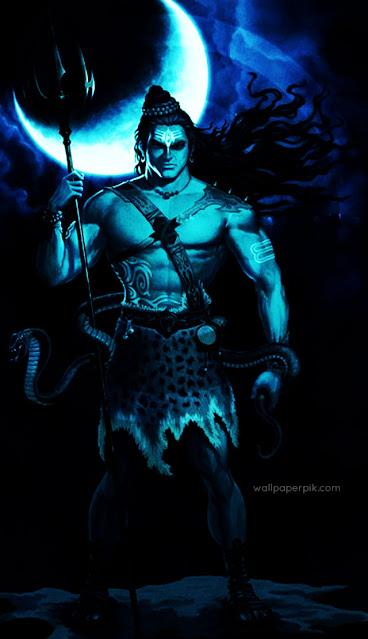 mahakal black wallpaper full hd