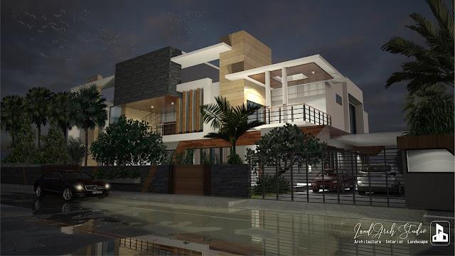 Ultra Modern House, NOIDA, Uttar Pradesh, India