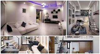 Model Ruang Tamu Rumah Minimalis 2 Lantai