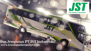 Bus Jemputan PT JST Indonesia Cikarang