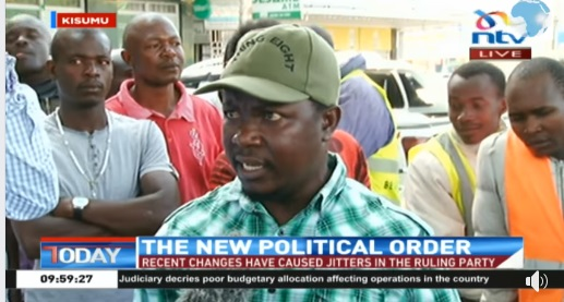 That trending video of a Kisumu man who sounded more intelligent and informed than NTV journalist who was interviewing him(Watch)