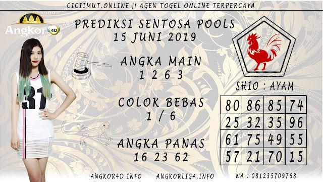 PREDIKSI SENTOSA POOLS 15 JUNI 2019