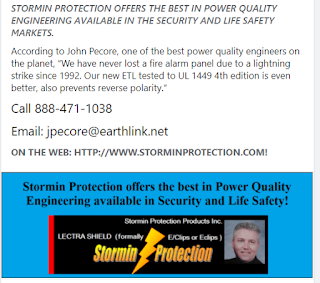 Stormin Protection - John Pecore, Surge Protection Engineer (image)
