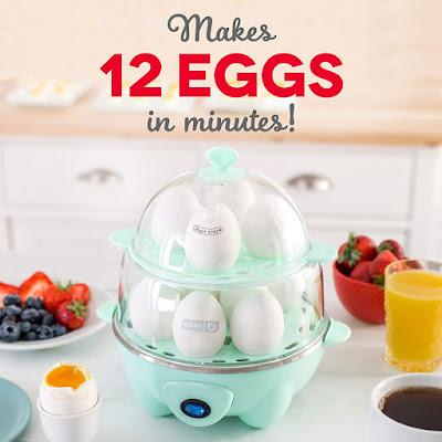 Deluxe Rapid Egg Cooker
