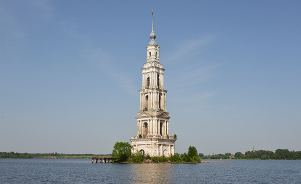 The Kalyazin Bell Tower, Russia