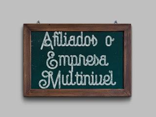 Afiliados o Empresa Multinivel