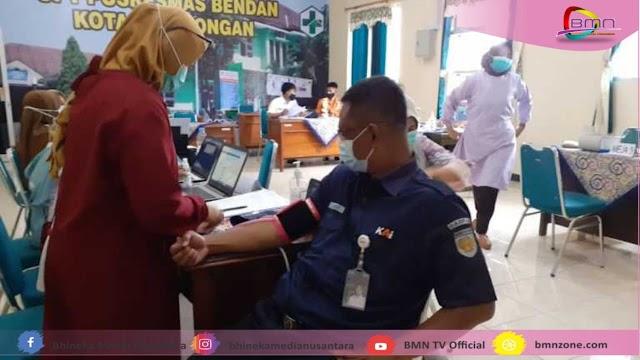 Pelaksanaan Vaksin Tahap II Sebanyak 4.500 Jiwa Di Kabupaten Pekalongan