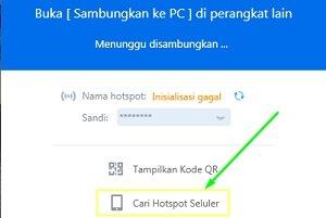 transfer file dari hp ke komputer dan sebaliknya via shareit