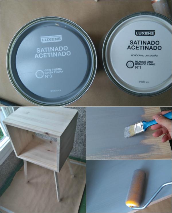 mesita caja de madera diy