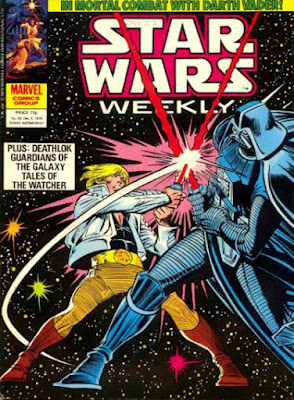 Star Wars Weekly #93. Luke Skywalker vs Darth Vader