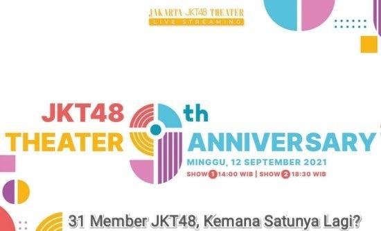 jkt48 theater 9th anniversary ultah