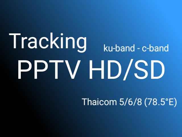 Cara Tracking Thaicom 5 Untuk Lock PPTV HD/SD Ku-Band dan C-Band