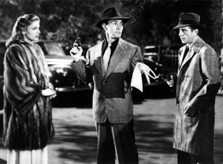 Humphrey Bogart, Lauren Bacall, Raymond Chandler, novela negra