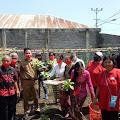 SMP 2 Amurang Sukses Budidaya Sayur, Panen Perdana oleh Kadis Dispora Minsel