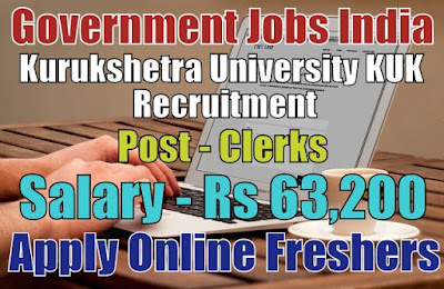 KUK Kurukshetra University Recruitment 2019