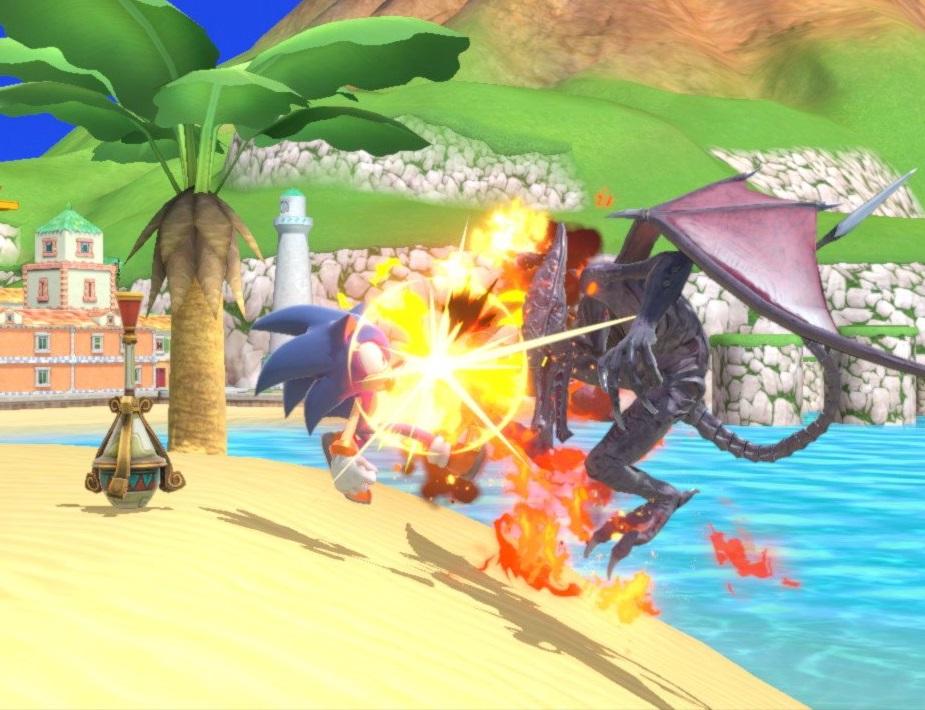 Neko Random: Things I Like: Delfino Plaza (Super Smash Bros