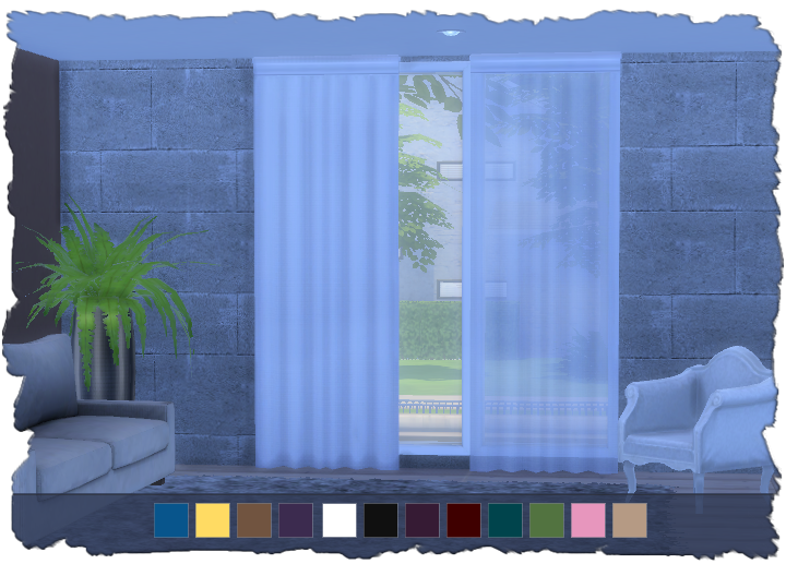 My Sims 4 Blog Curtains And Blinds By Devilicious
