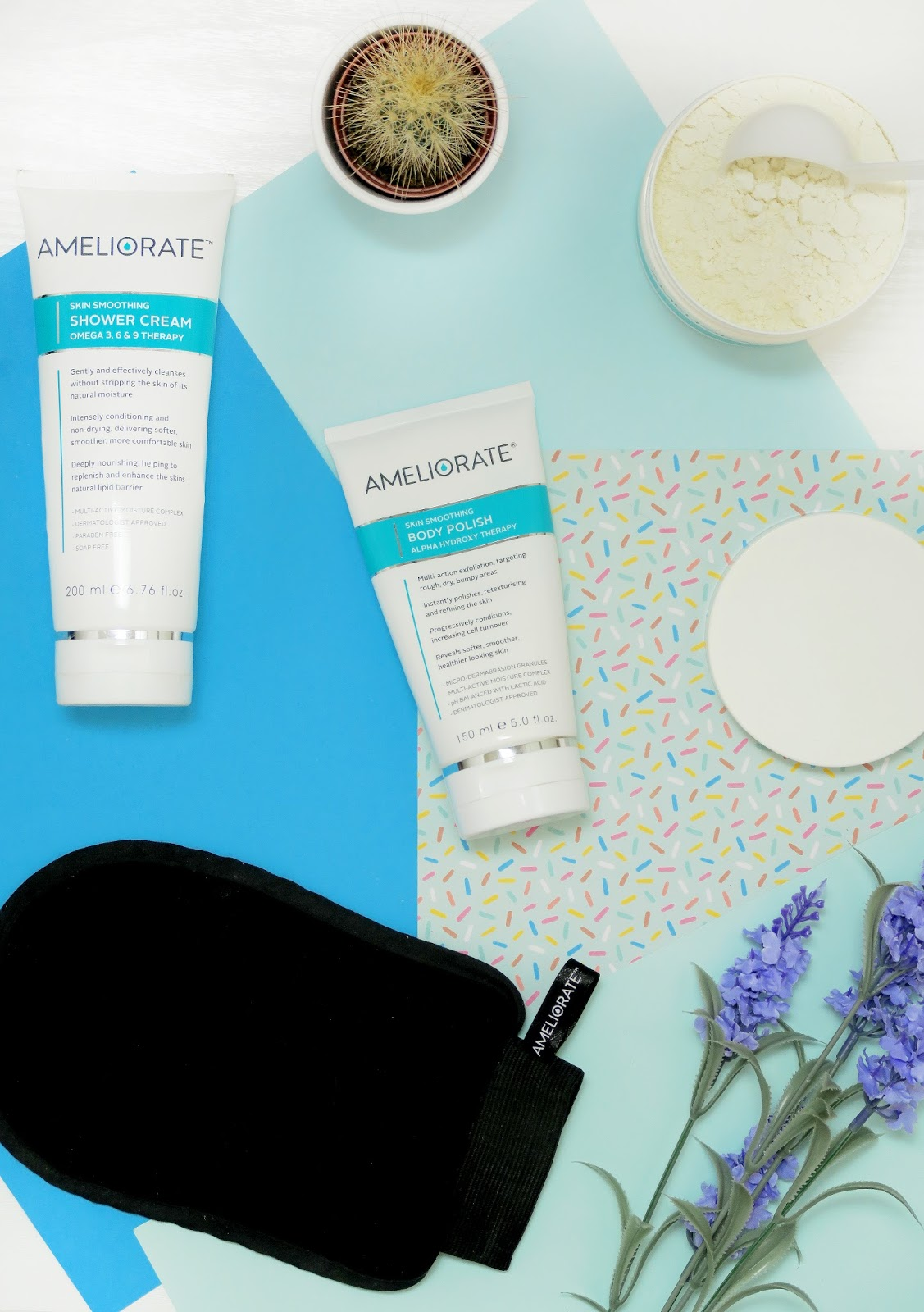an image of Ameliorate Skin Smoothing range