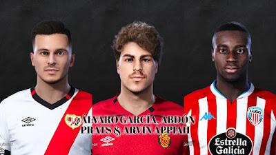PES 2021 Facepack La Liga SmartBank Vol 8 by Dani