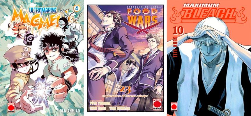 Novedades Panini Cómics enero 2020 - manga shonen