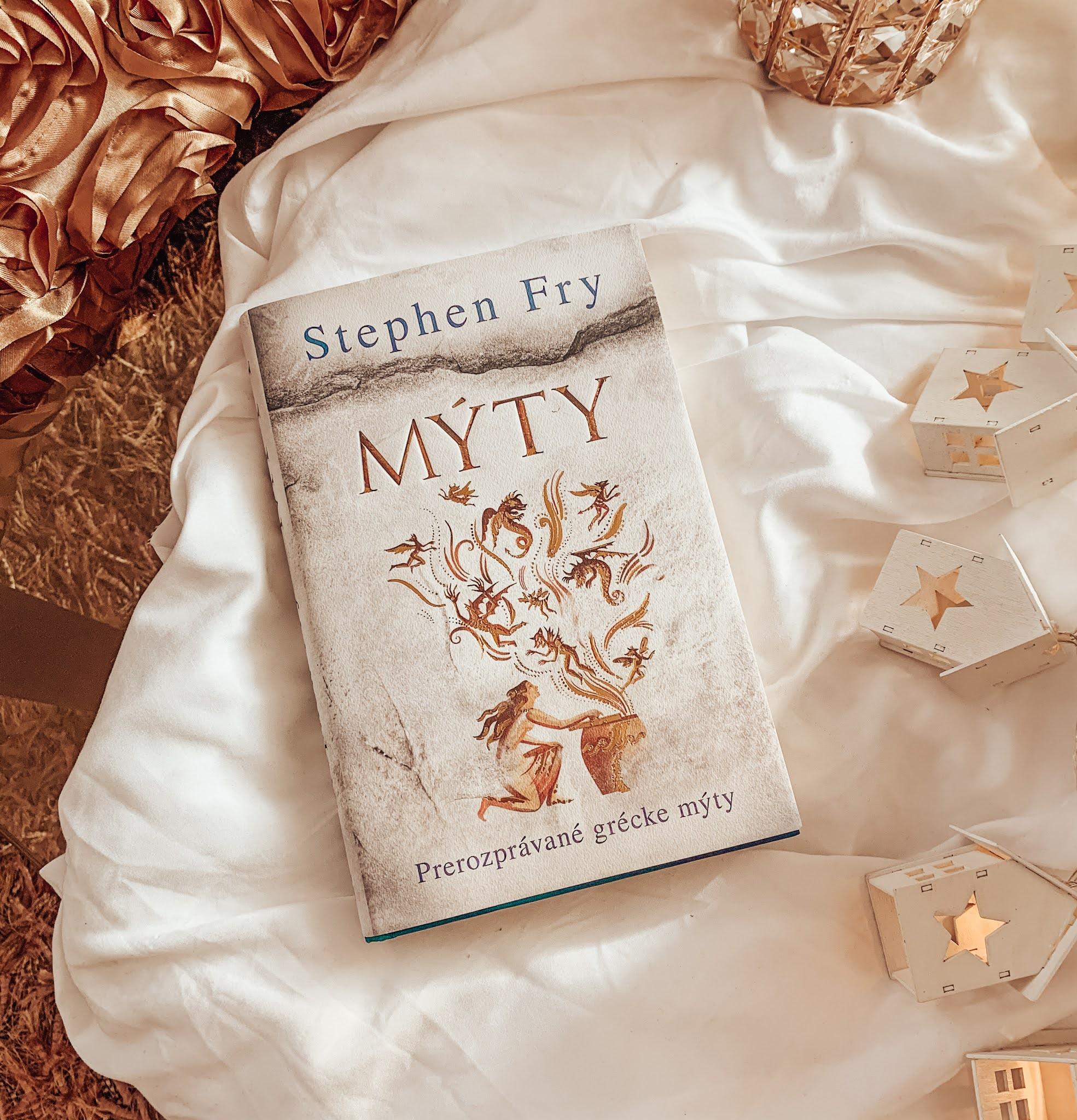 Myty Stephen Fry kniha recenzia
