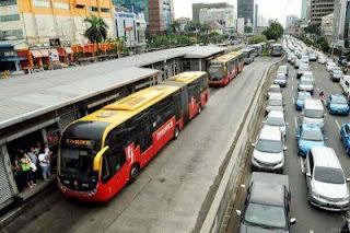 angkutan umum di jakarta