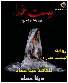 قرأة وتحميل رواية ليست عذراء كاملة pdf للكاتبة دينا عماد - مكتبة الأميرة