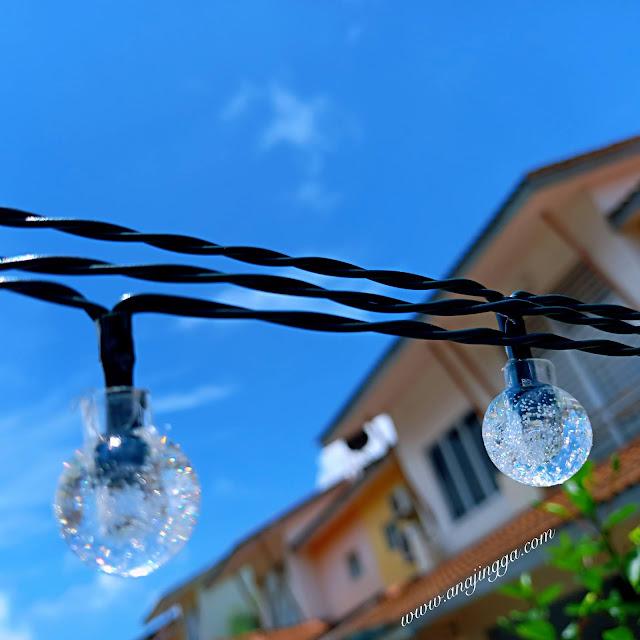 lampu solar taman shopee