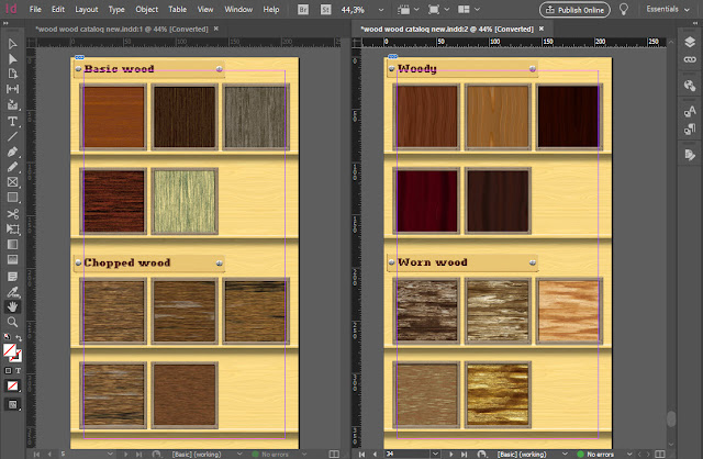 Compare pages for duplicates in InDesign