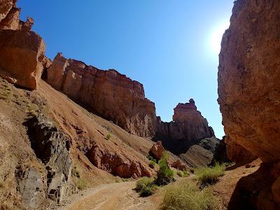 Charyn Canyon dolina zamków