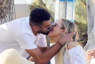 Riyad Mahrez Kissing Taylor Ward