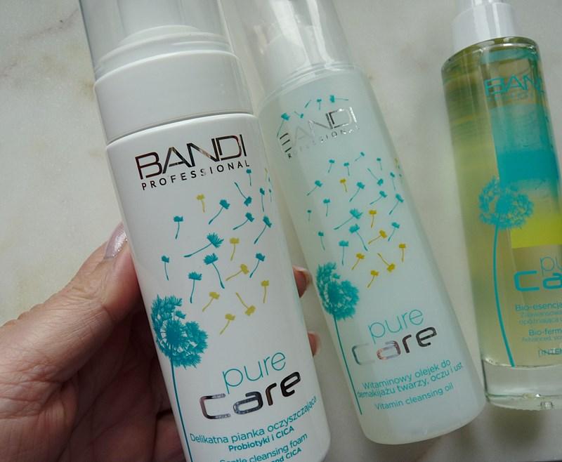 Bandi Pure Care Delikatna pianka oczyszczająca probiotyki + CICA