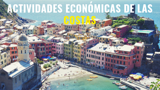 actividades económicas de las costas