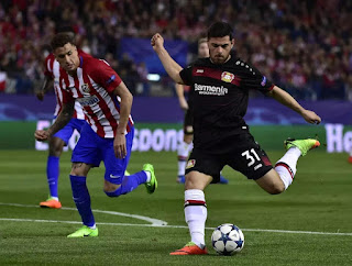Football : Atletico Madrid 0:0 Bayer Leverkusen