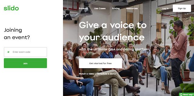Slido 活動、演講、上課免費互動工具教學,製作聽眾 QA系統