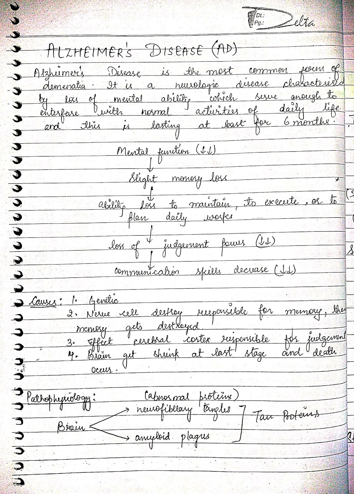 pathophysiology - nervous system disorder schizophrenia disorder