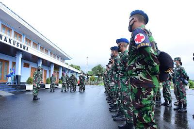 TNI AU Berangkatkan Personel Yonkesau, Bantu Penanggulangan Bencana Alam di Flores NTT