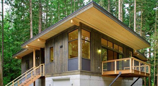 Innenarchitektur Design Moderne Holzhaus Design