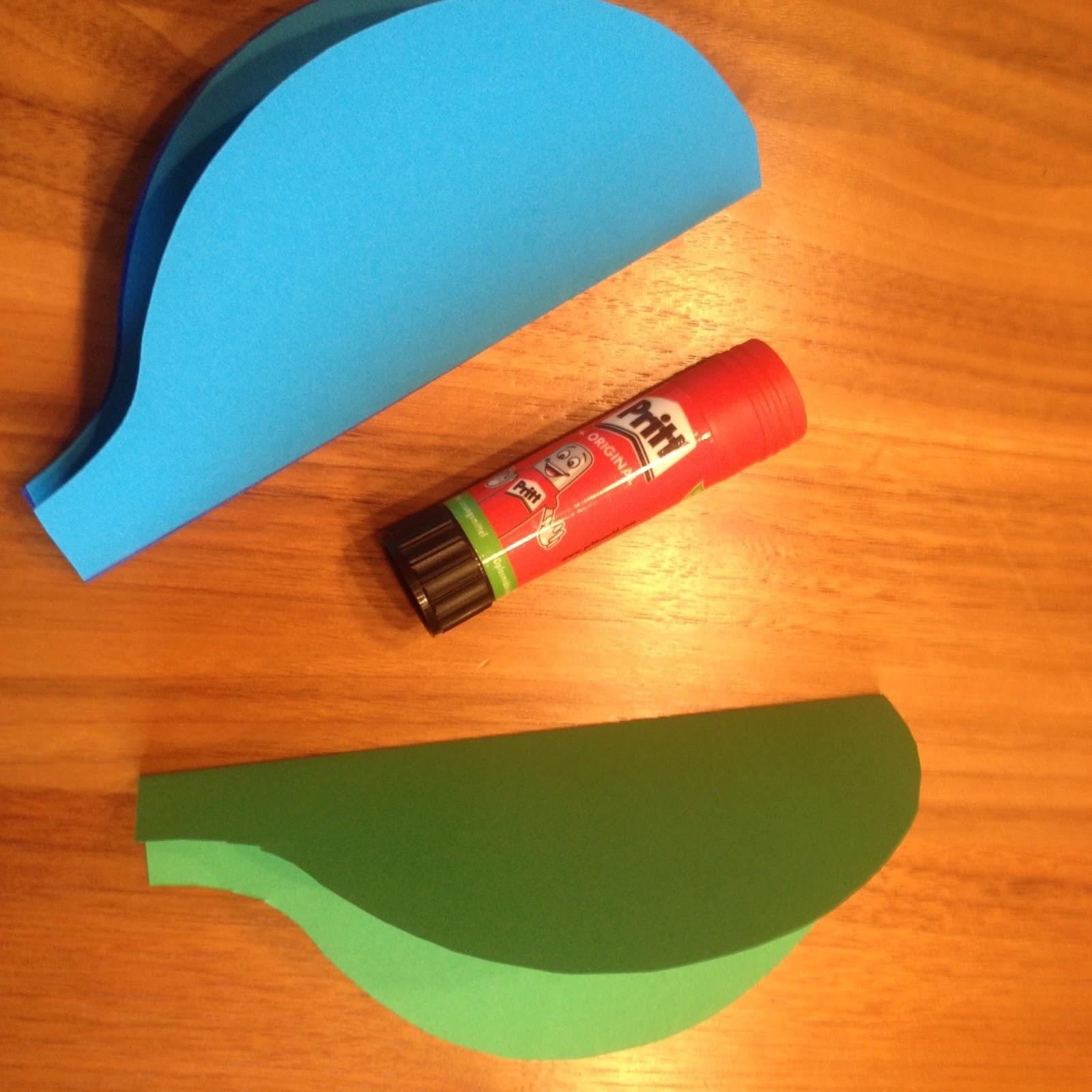 Jane bastelt: 3D Heissluftballon zum Aufhängen - Anleitung