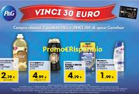 Logo Concorso P&G ''Vinci la spesa'' : ogni giorno 1 Gift Card da 30€