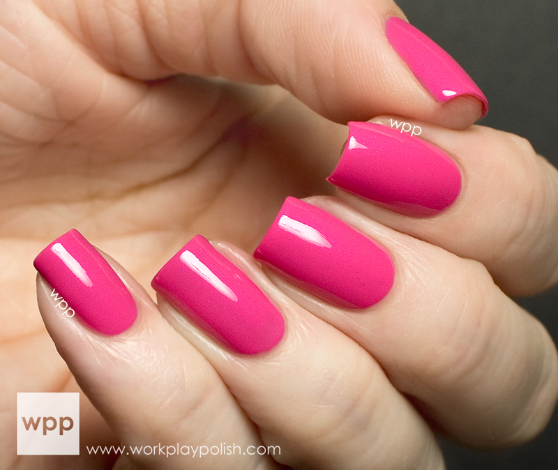 Precision Lacquer Pink with a Wink