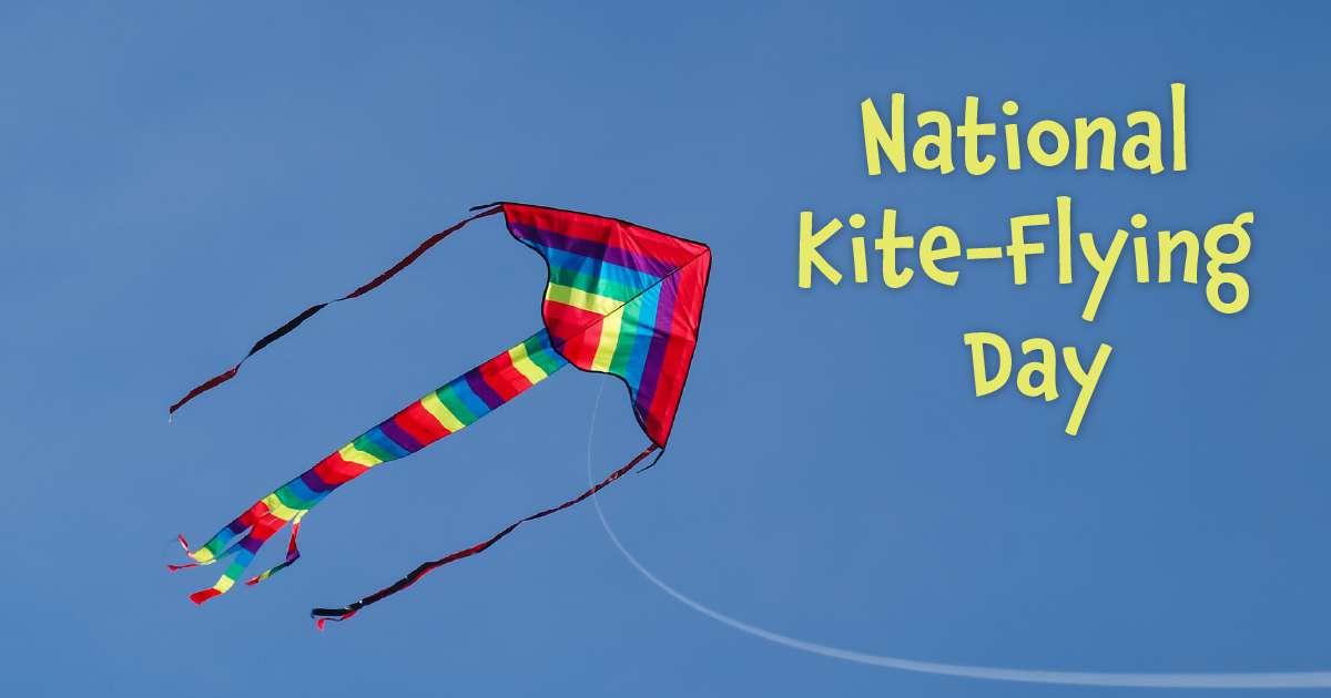 National Kite-Flying Day Wishes Beautiful Image