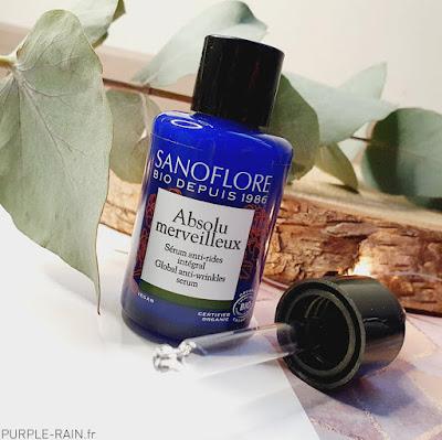 Sanoflore : Gamme de soins anti-âge Bio •• Merveilleuse